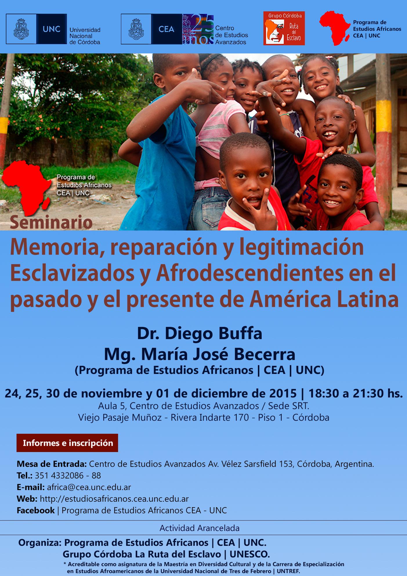 Seminario-Diego Buffa-Maria Jose Becerra-CEA-2015